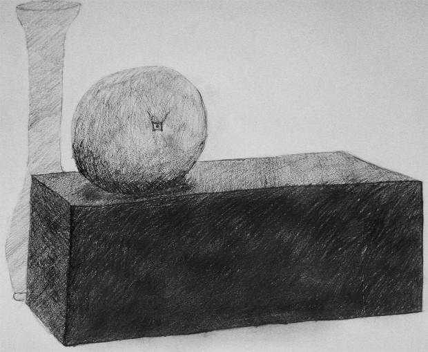 Rezultat s prvega tečaja risanja
