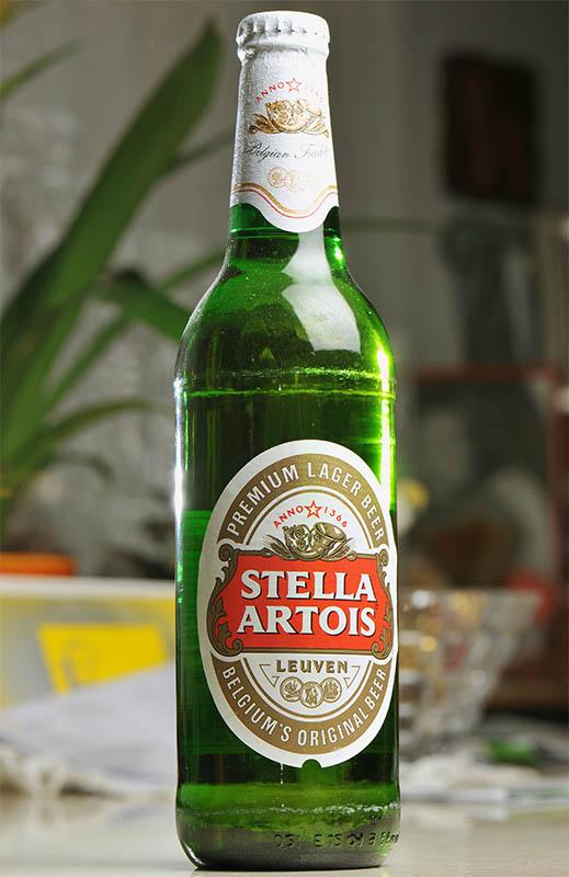 Stella Artois steklenica